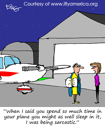 More Aviation Cartoons