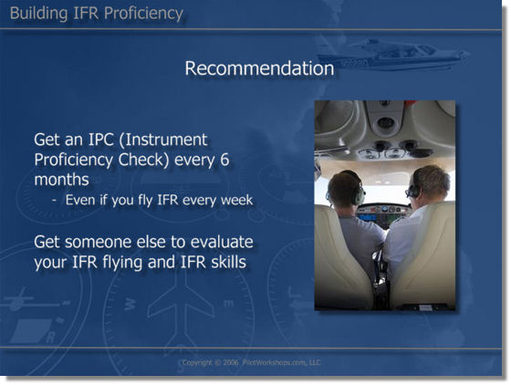 Why pilots should get IPC