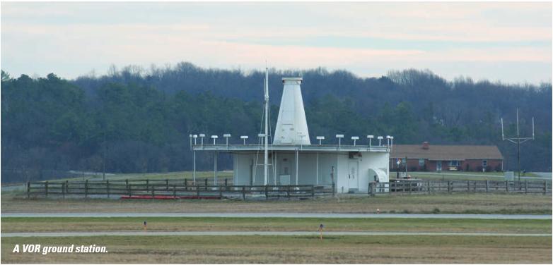 VOR ground station