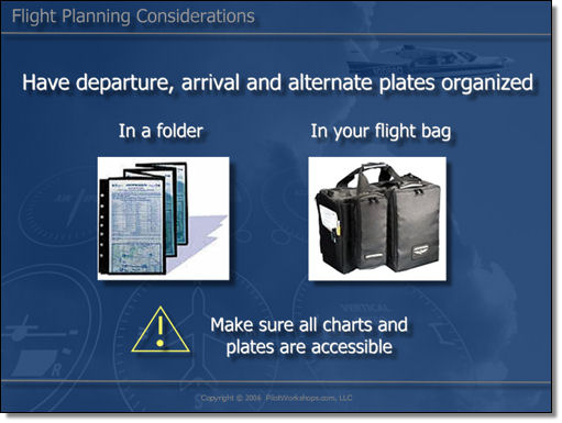 flight planning considerations