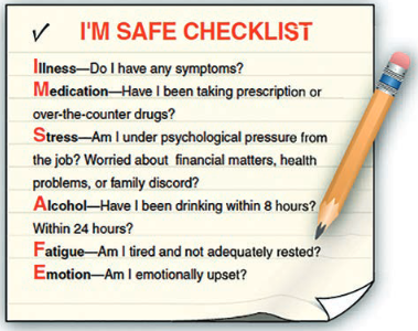 i am safe checklist