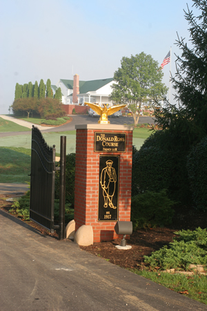 Entrance to Donald Ross.
