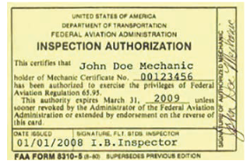 inspection authorization