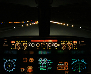night instrument panel